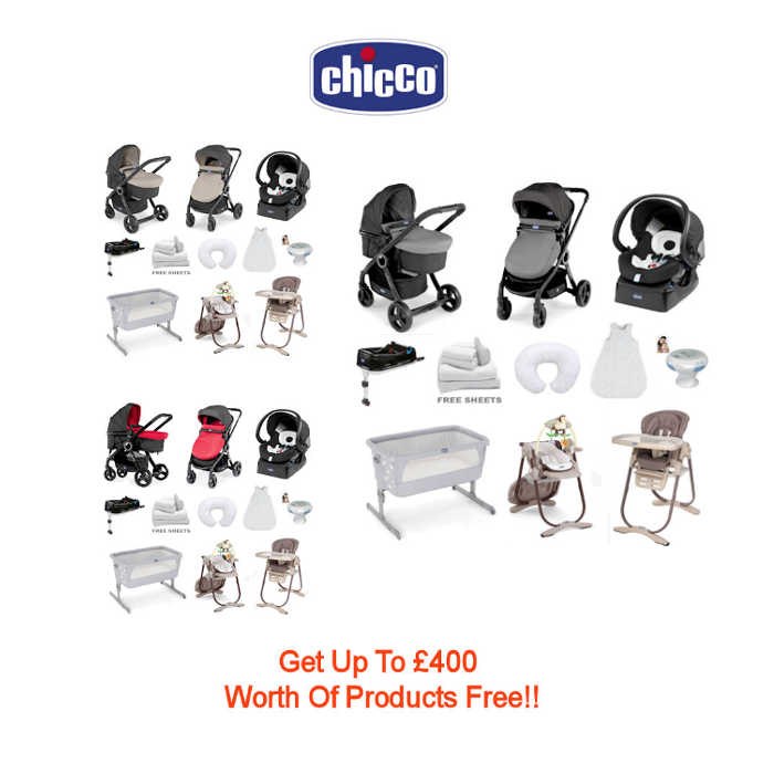 Chicco 8 Piece Show Offer Bundle 15 - Urban Plus