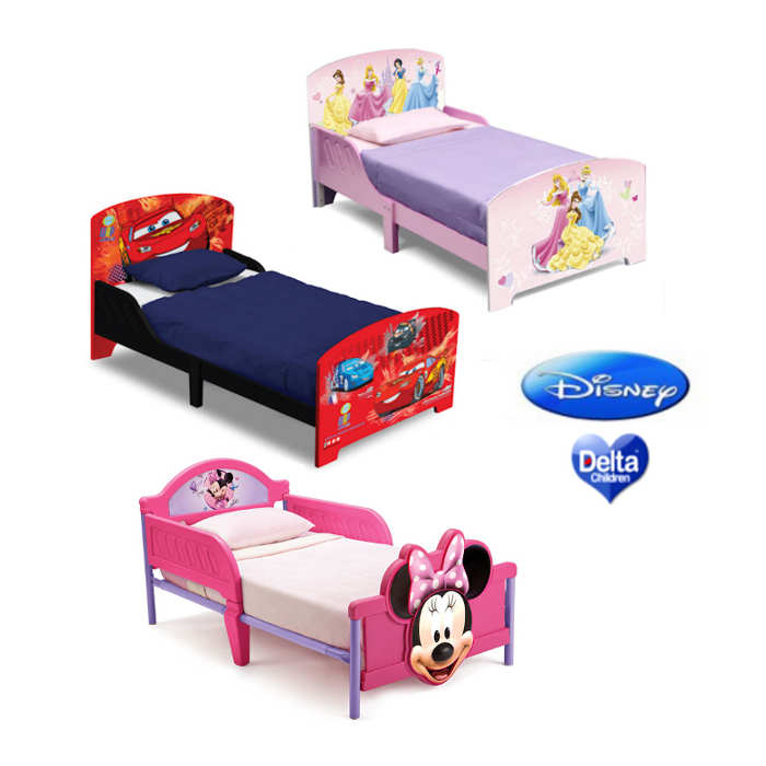 Delta Children Wooden Toddler Bed