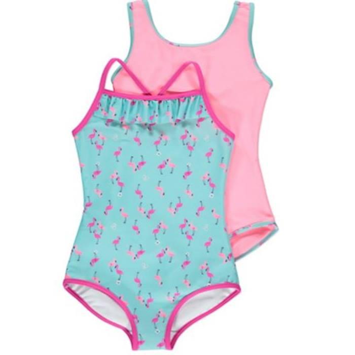 ASDA-Flamingo swimsuits