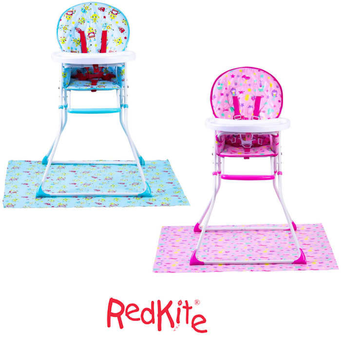 Red Kite Feed Me Compact Highchair & Splash Mat