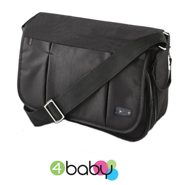 4baby Zobo Messenger Changing Bag - Black