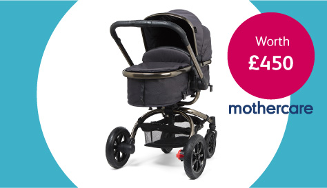 Win a pram from mothercare worth £450
