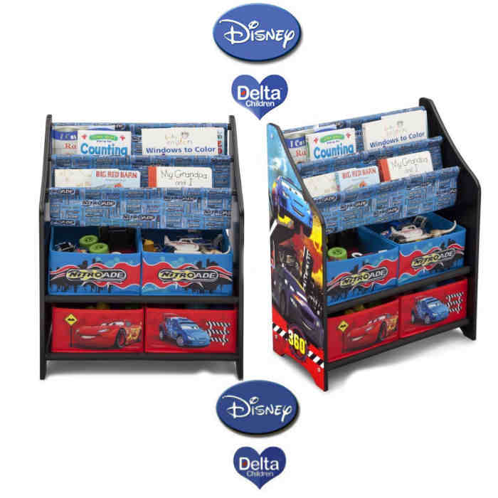 Delta Toy Organiser - Cars