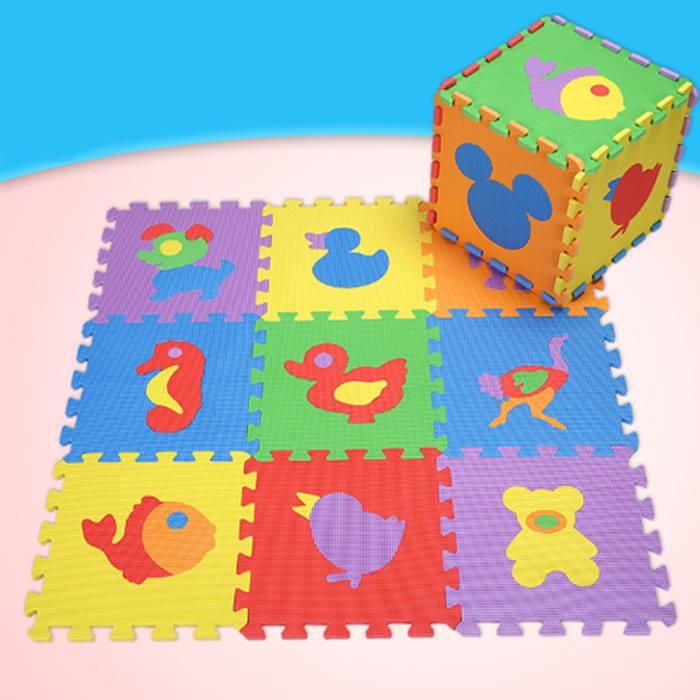 Kids Puzzle Foam Play Mat - 4 Designs