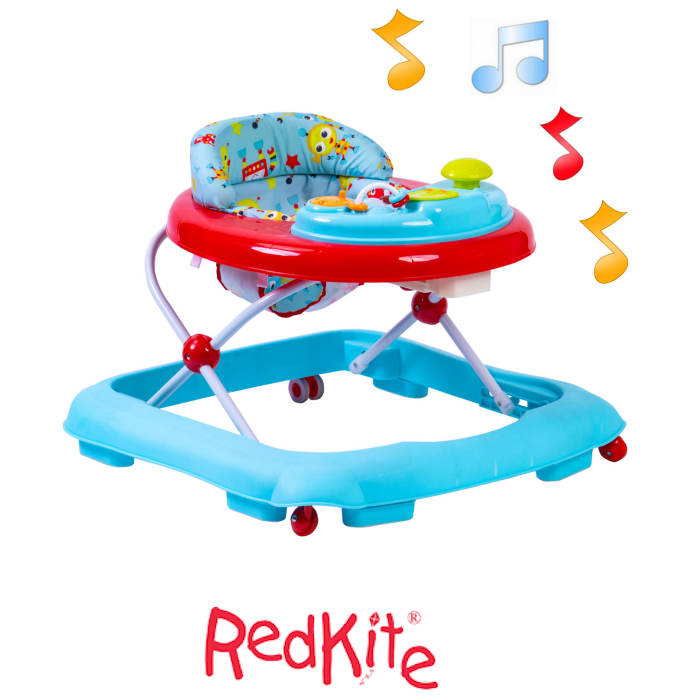 Red Kite Musical Baby Go Round Jive Walker - Robot