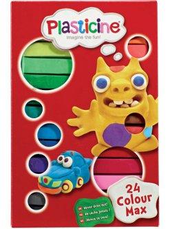 Plasticine 24 colour set 250