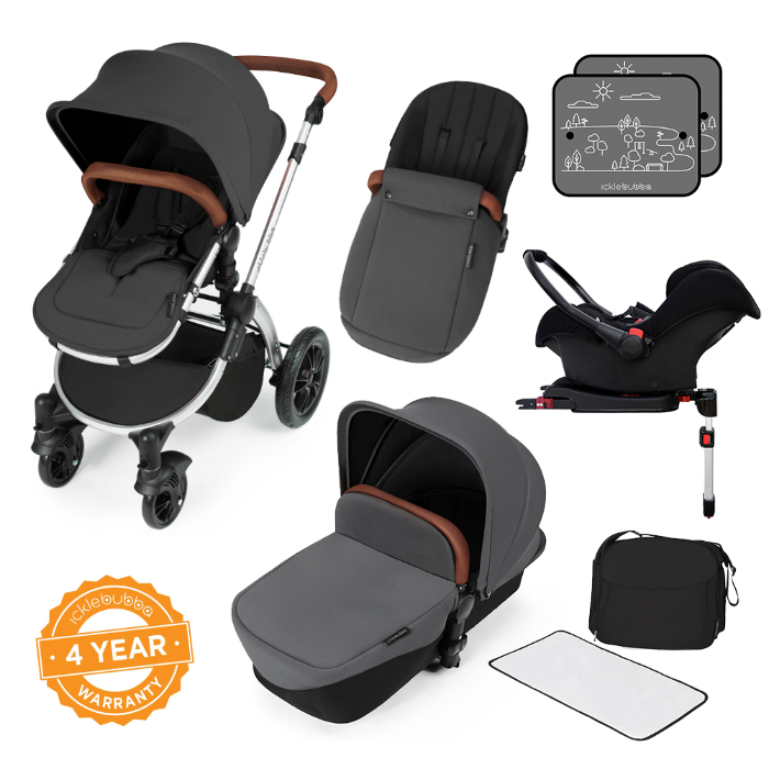 £100 off Stomp V3 Travel System with Isofix Base
