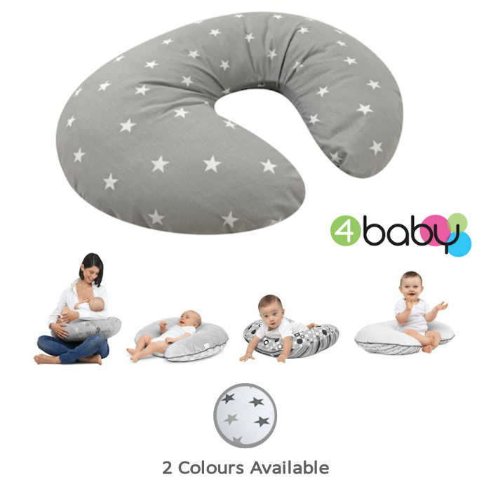 4baby Deluxe 4 in 1 Nursing  Pregnancy Pillow Cushion