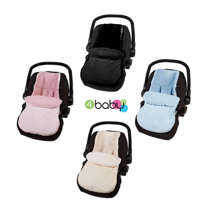 4baby Car Seat Footmuff - Dimple