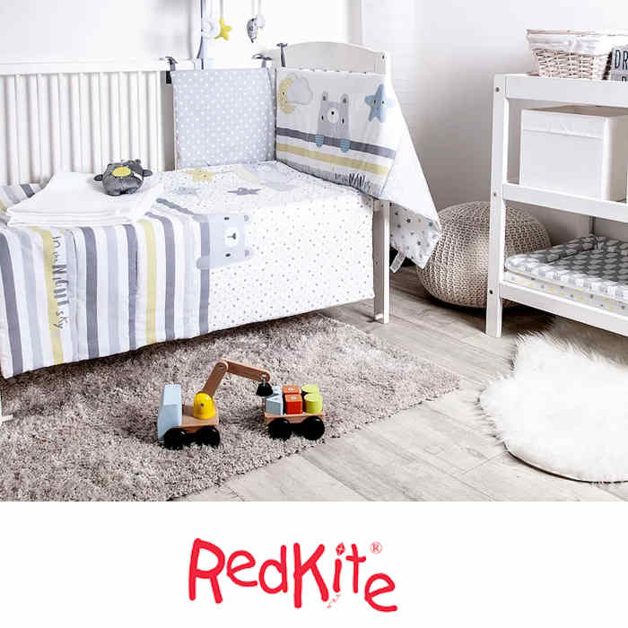 Red Kite 4 Piece Cosi Cot / Cot Bed Bedding Set