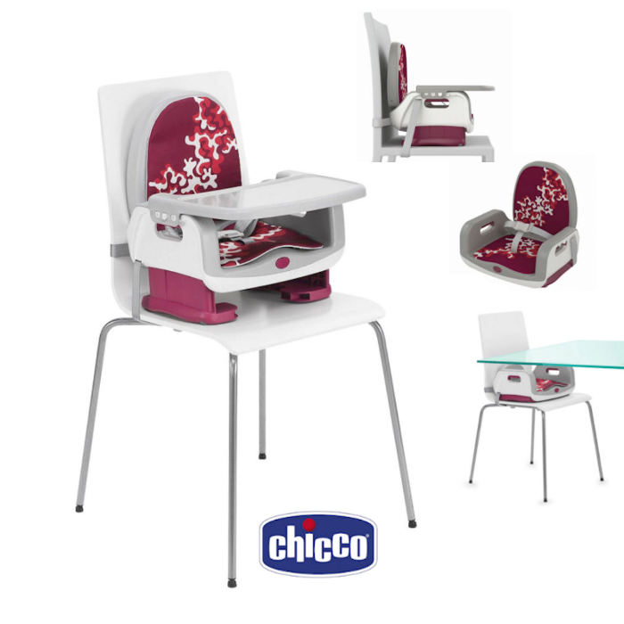 Chicco Deluxe Up To 5 Booster - Cherry 1