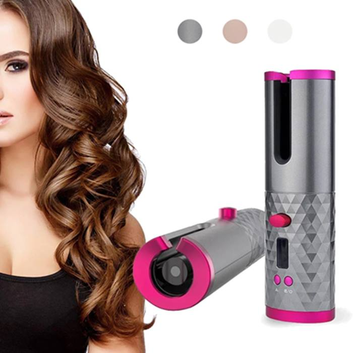 Auto-Rotating Hair Curler - 3 Colours