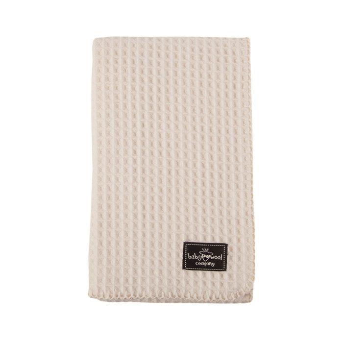 Lambswool-Waffle-baby-blanket
