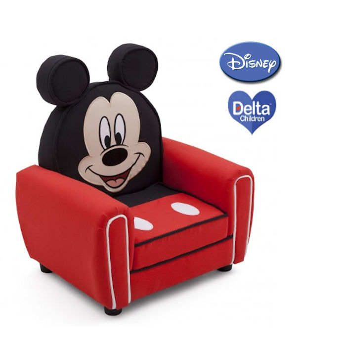 Delta Children Upholstered Figural Chair -  Mickey