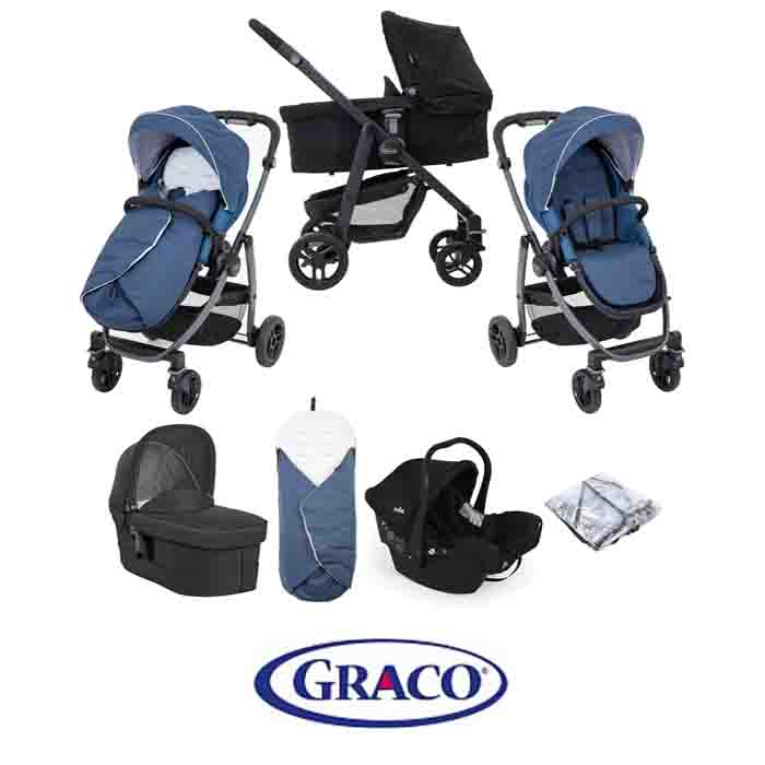 Graco Evo Avant (juva) Travel System With Carrycot