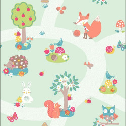 arthouse forest friend wallpaper