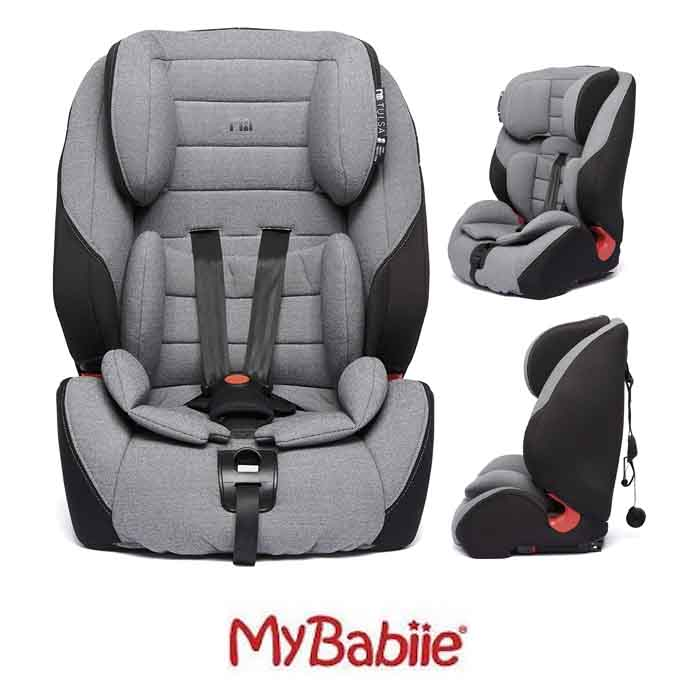 My Babiie Tulsa Every Stage Group 1/2/3 ISOFIX High Back Booster Car Seat