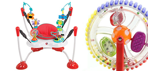 Win an Inspire the Senses Bounce Around Activity Centre and Wonder Wheel