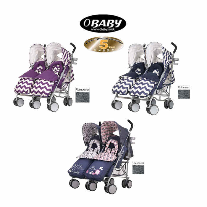 Obaby Leto Plus Twin Stroller