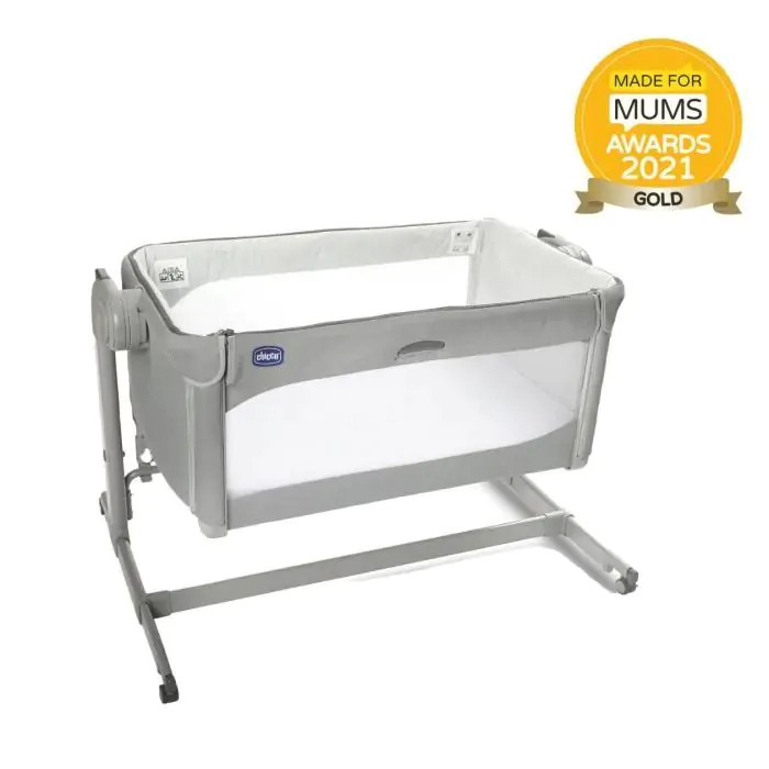 Chicco Next2Me Magic Crib Bundle - Cool Grey