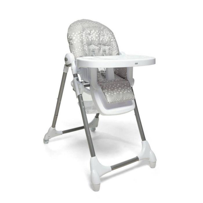 Mamas and Papas Snax Highchair - Grey Spot