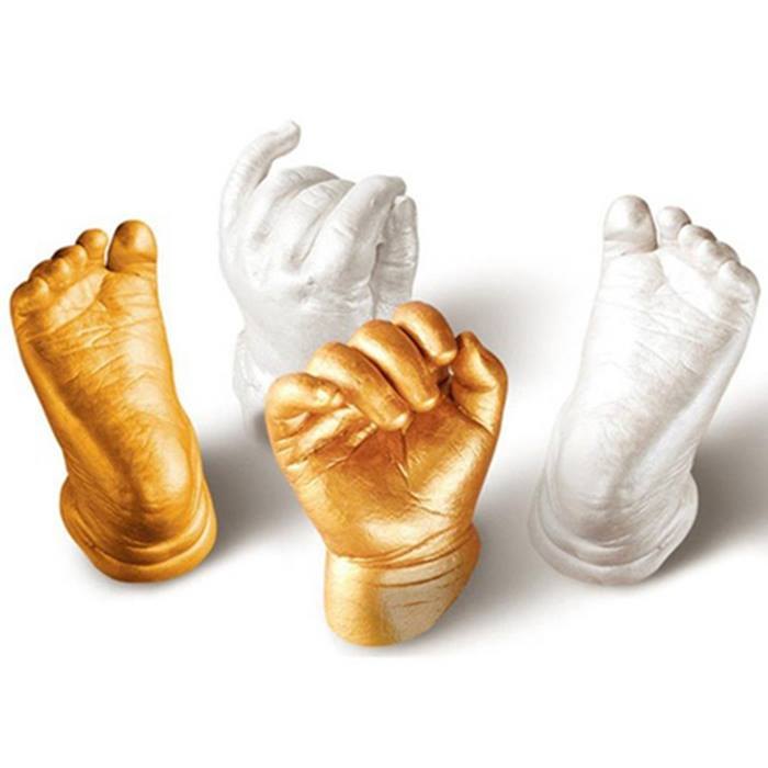3D Baby Hand & Foot Casting Kit - 3 Colours
