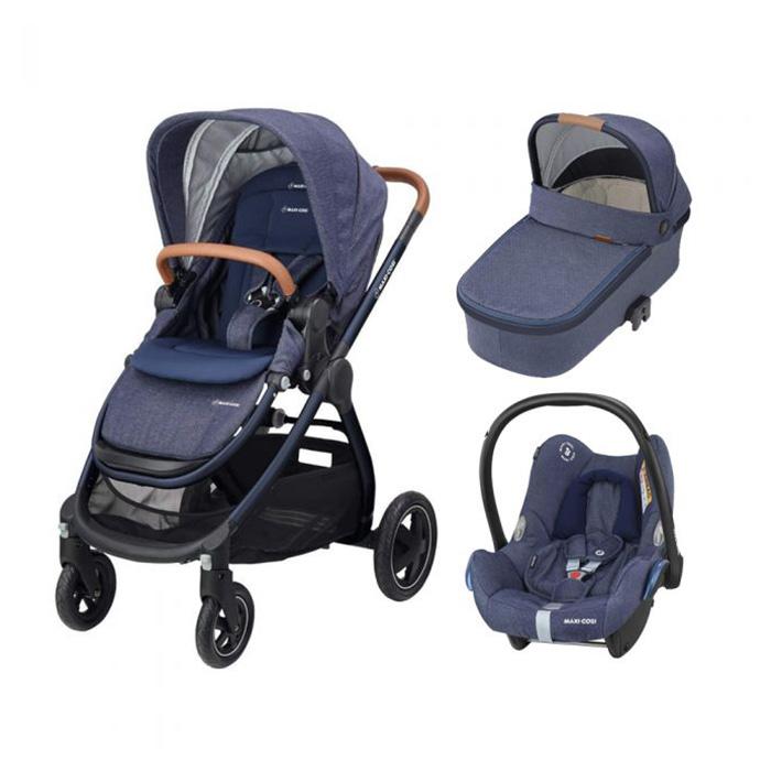 Maxi Cosi Adorra, Oria & Cabriofix - Sparkling Blue