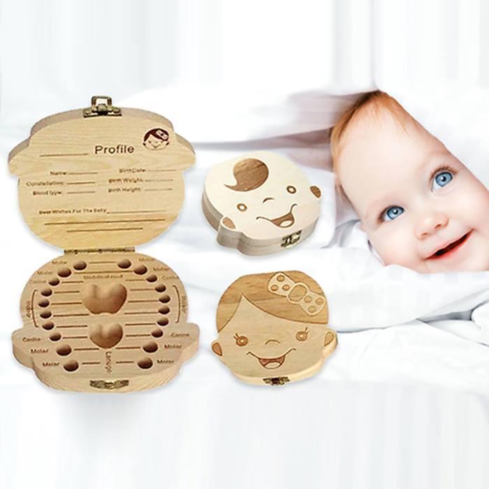Baby Tooth Keepsake Box - 2 Designs!