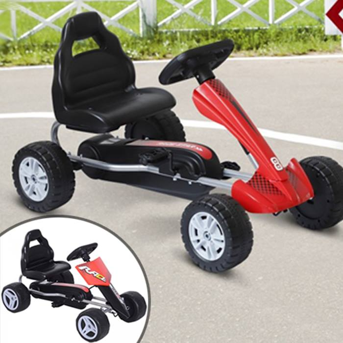 Kids Ride-On Pedal Go Kart - 2 Designs