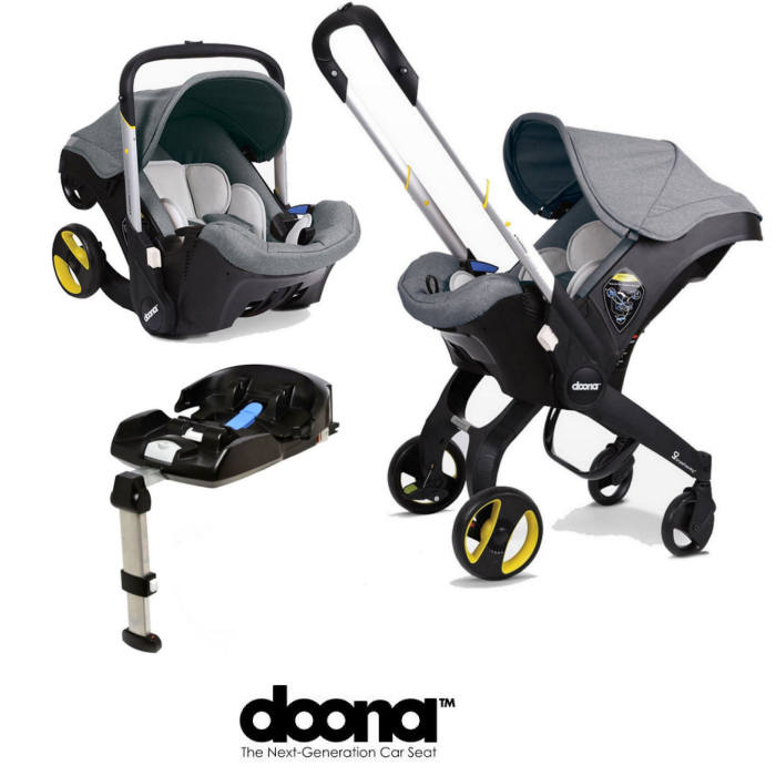 Doona Infant Car Seat Stroller With Isofix Base