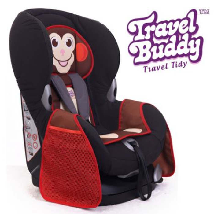 Travel Buddy Travel Tidy in Monkey or Zebra