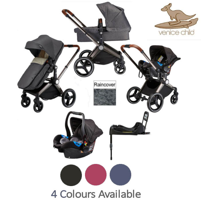 Venice Child Kangaroo 2 in 1 Travel System With Isofix Base
