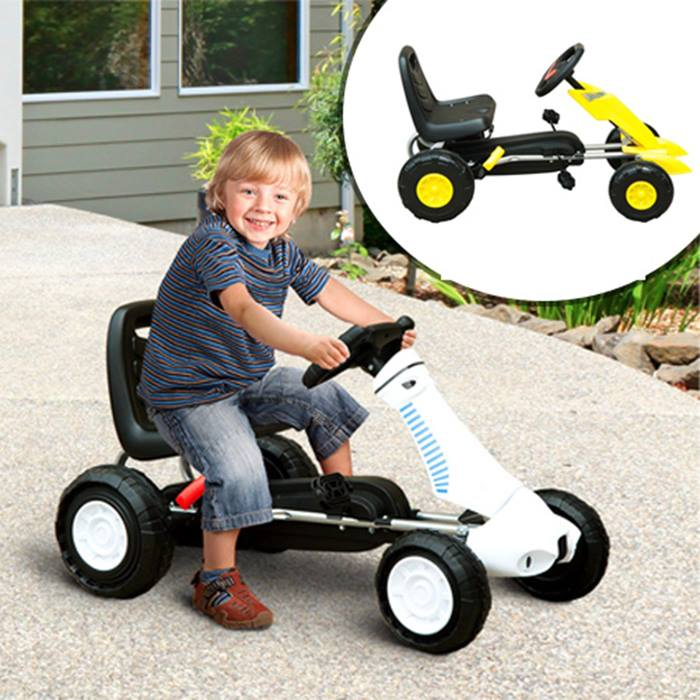 Kid's Pedal Go-Kart - 2 Colours