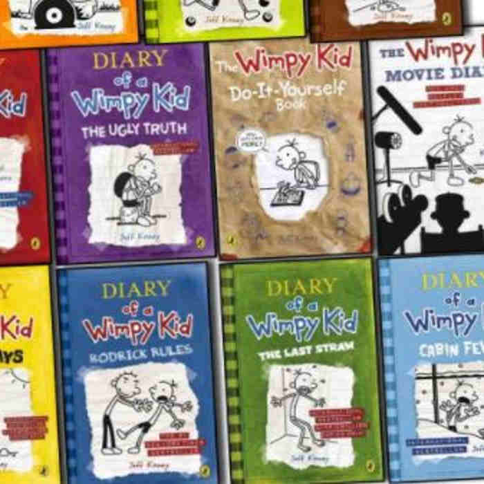 Wimpy kid collection