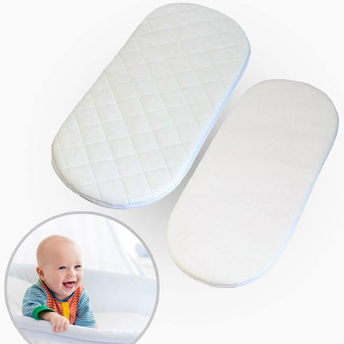 1 or 2 Extra Thick Moses Basket Mattresses - 20 Sizes