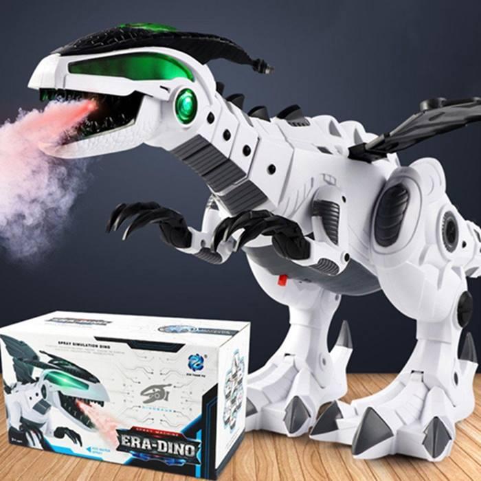 Vapour-Breathing Dinosaur With Movement, Lights & Sounds - 2 Colours