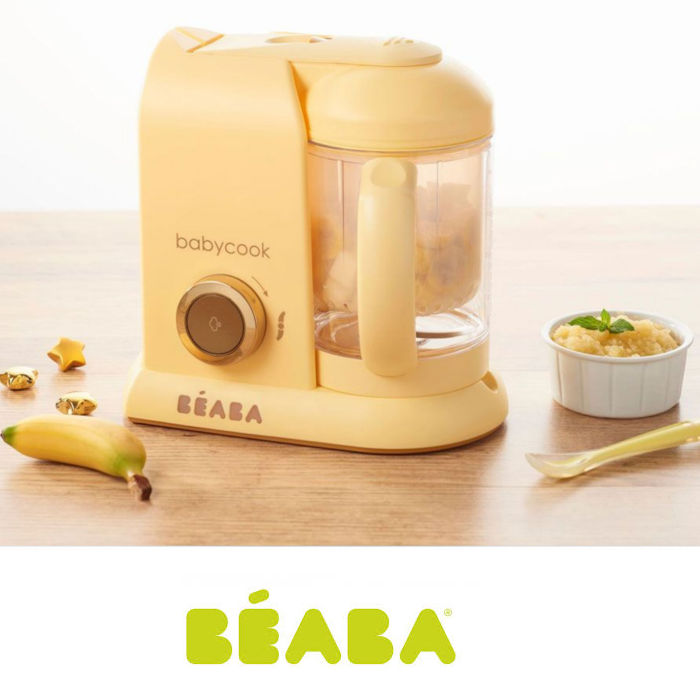 Beaba Babycook Solo 4-in-1 Limited Edition Baby Food Maker & Food Processor
