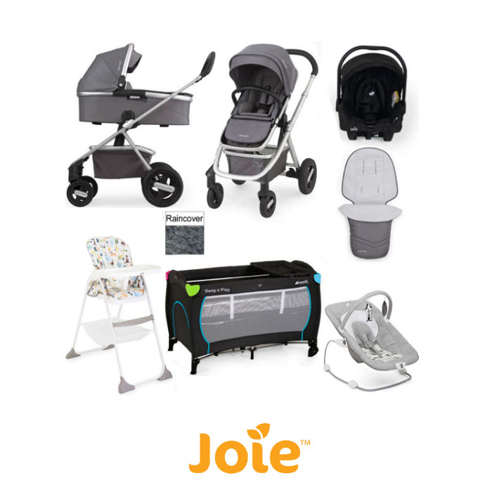 Nuna Joie Ivvi Everything You Need Gemm Travel System Bundle