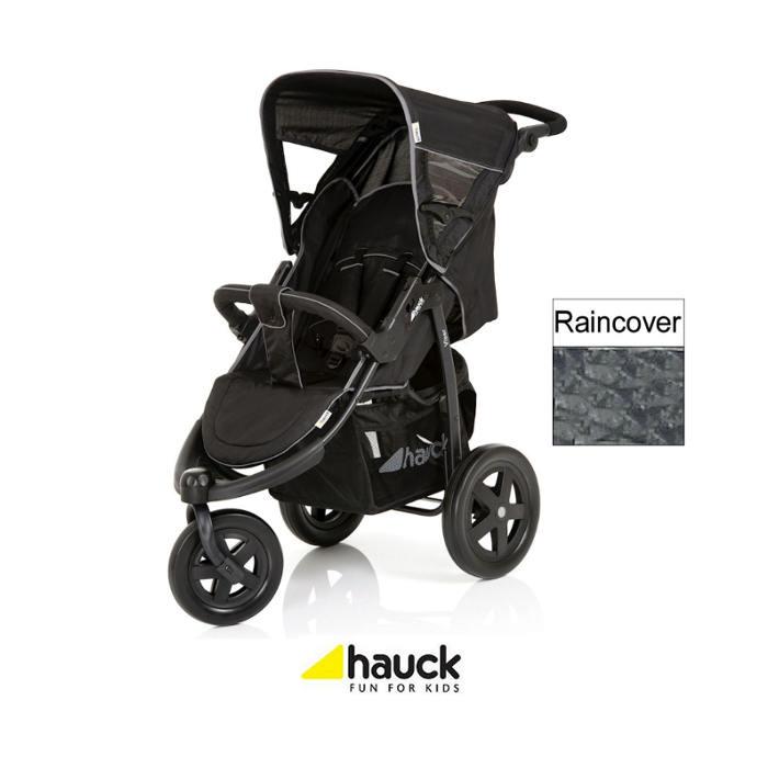 Hauck Viper 3 Wheel Puchchair Cav Grey