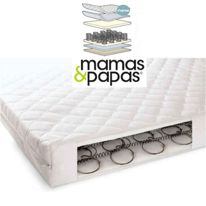 Mamas  Papas Sleepfresh Perfect Balance 200 Sprung Interior Cot Mattress  120 x 60cm