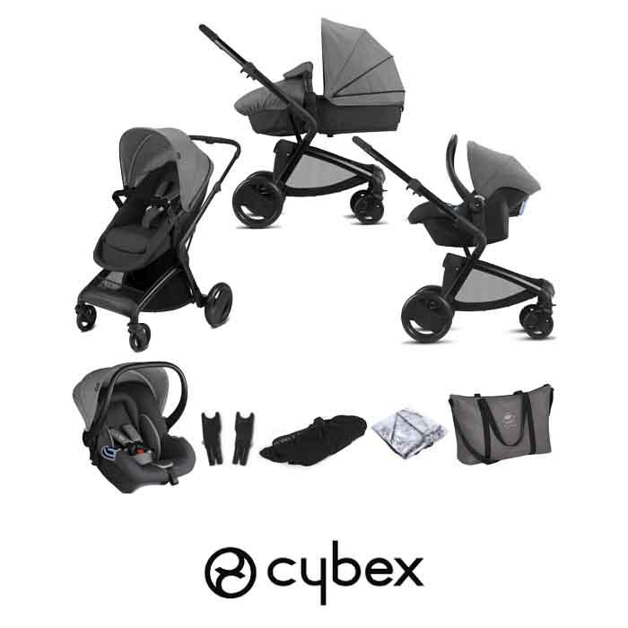 Cybex CBX Bimisi Flex (Shima) Travel System with Accessories