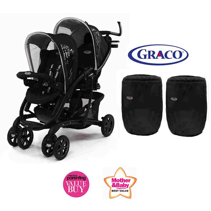 Graco Deluxe Quattro Tour Duo Tandem Double Stroller - Sport Luxe