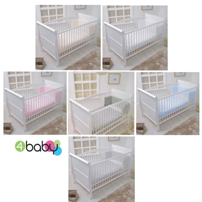 4baby Cot  Cot Bed Quilt  Bumper Set