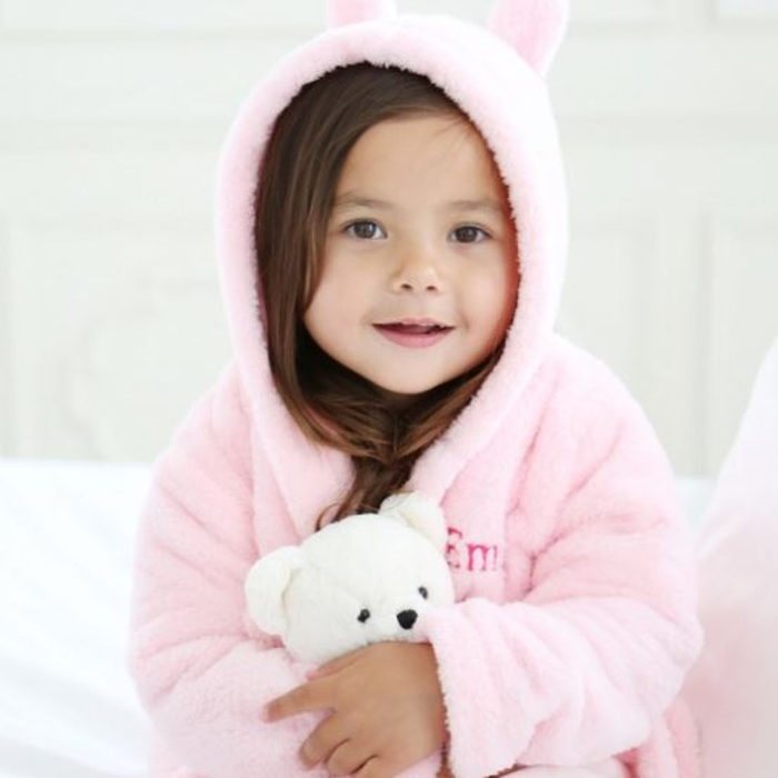 My1styears-pink-hooded-fleece-robe
