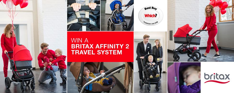 Win a Britax Affinity 2