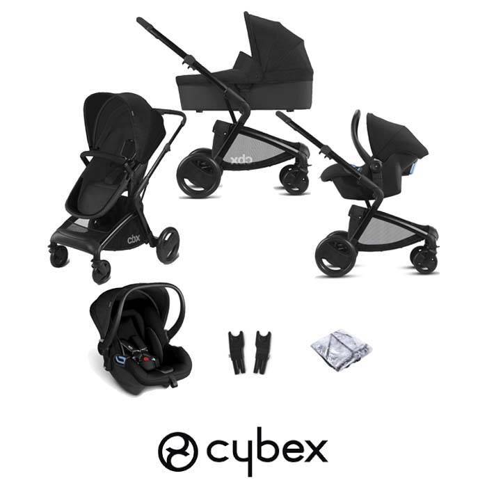 Cybex CBX Bimisi Pure (Shima) Travel System with Carrycot