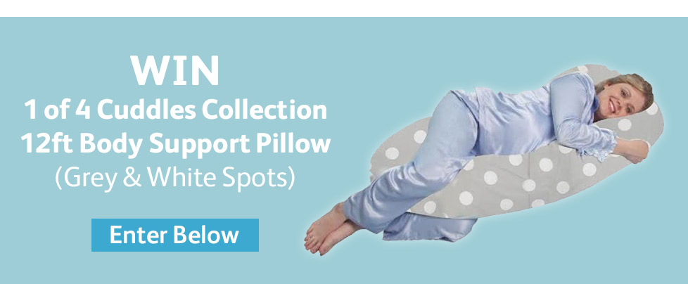Win 1 of 4 Cuddles Collection 12ft Body Support Pillow