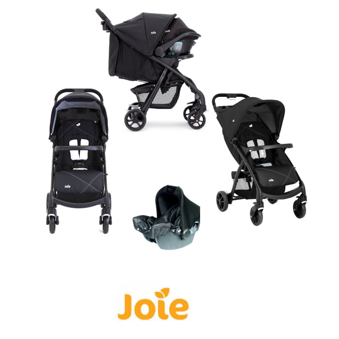 Joie Muze Travel System - Universal Black