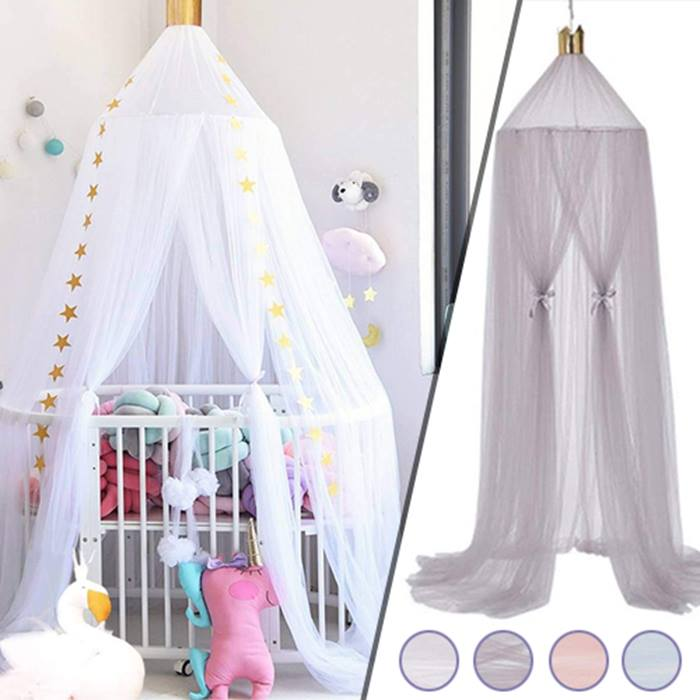 Kid's Mosquito-Net Canopy - 4 Colours