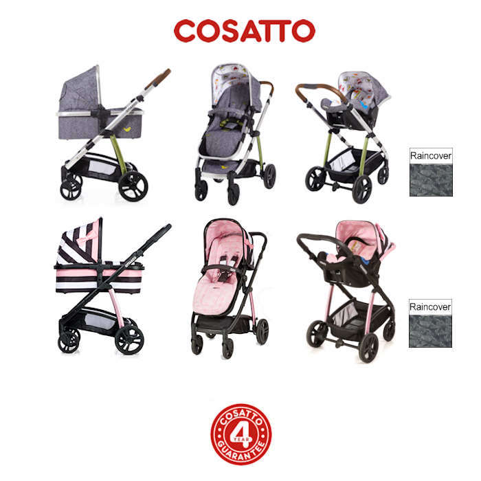 Cosatto Wow 3 in 1 Combi Travel System